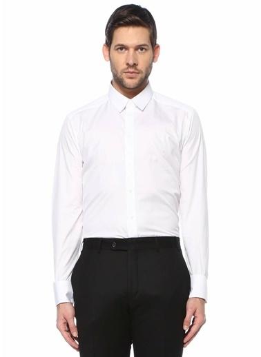 Dolce&Gabbana Dolce&Gabbana  İngiliz Yaka Gömlek 101620757 Beyaz
